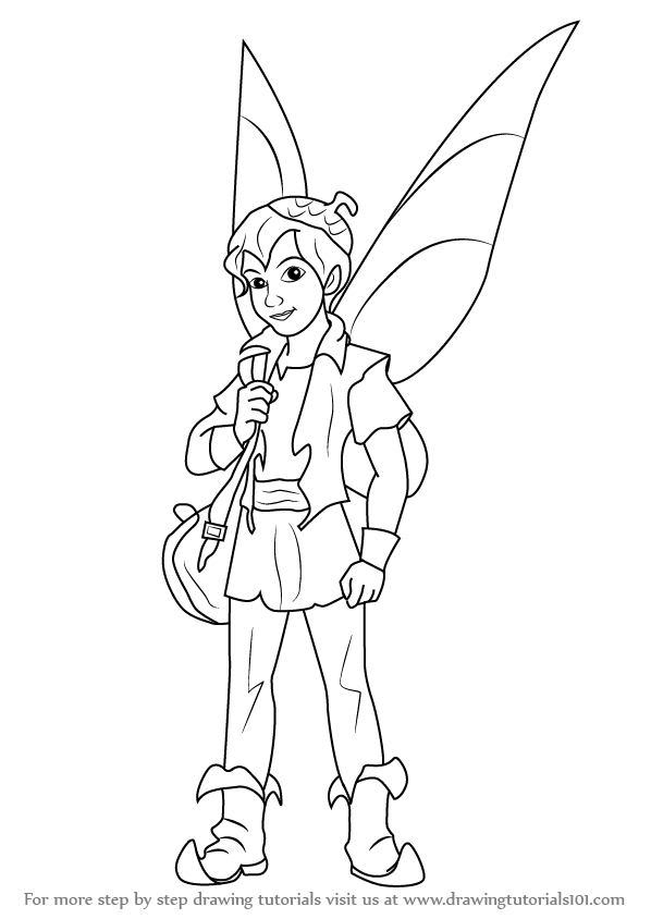 How To Draw Fairies Wings