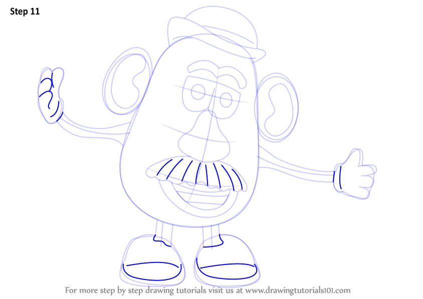muffalo potato how to draw a dog