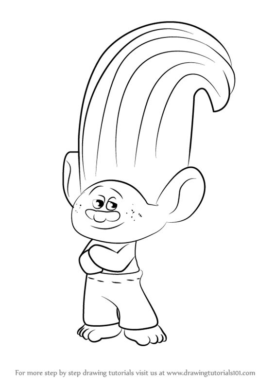 Learn how to draw creek from trolls trolls step by step learn how to draw creek from trolls trolls step by step drawing tutorials ccuart Gallery