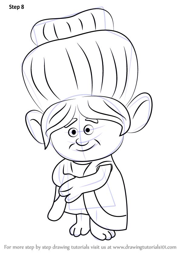 Learn How to Draw Grandma Rosiepuff