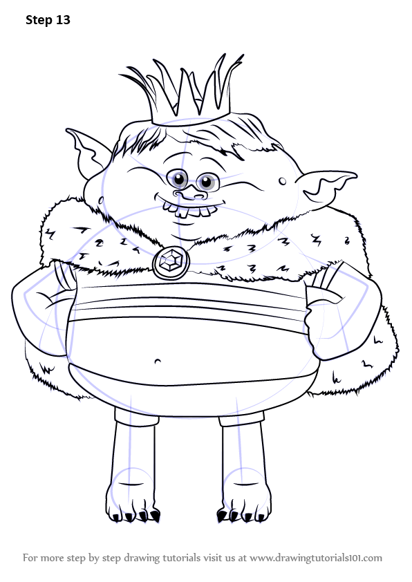 Learn How to Draw Prince Gristle
