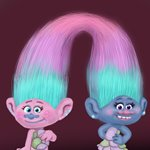 How to Draw Satin and Chenille from Trolls