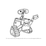 How to Draw WALL-E