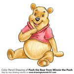 How to Draw Pooh the Bear from Winnie the Pooh