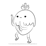 How to Draw Chocoberry from Adventure Time