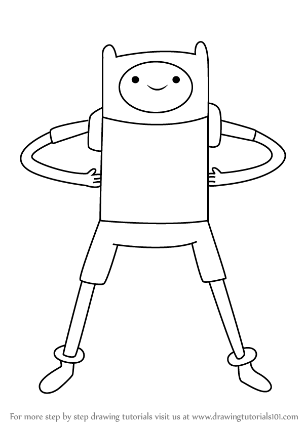 Adventure time drawings finn