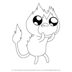 How to Draw Flambo from Adventure Time