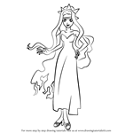 How to Draw Izuru from Mermaid Melody