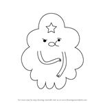How to Draw Lumpy Space Princess from Adventure Time
