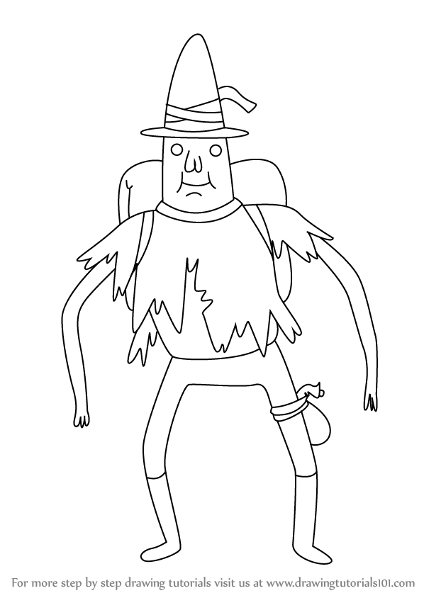 Step by Step How to Draw Magic Man from Adventure Time ...
