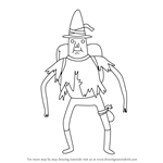 How to Draw Magic Man from Adventure Time