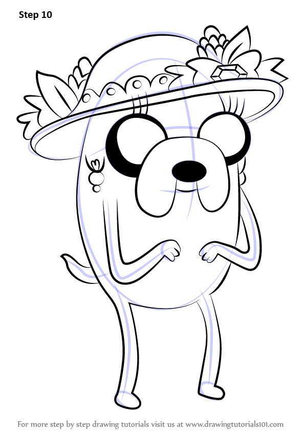 how to draw adventure time style tutorial