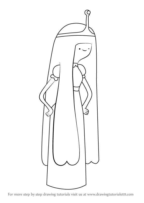 Adventure Time Coloring Pages Princess Bubblegum : Learn how to draw princess bubblegum from adventure time
