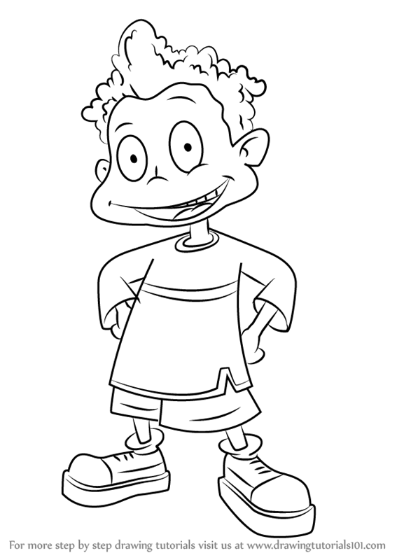 stu pickles coloring pages | Learn How to Draw Dil Pickles from All Grown Up! (All ...
