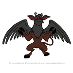 How to Draw The Jersey Devil from American Dragon Jake Long
