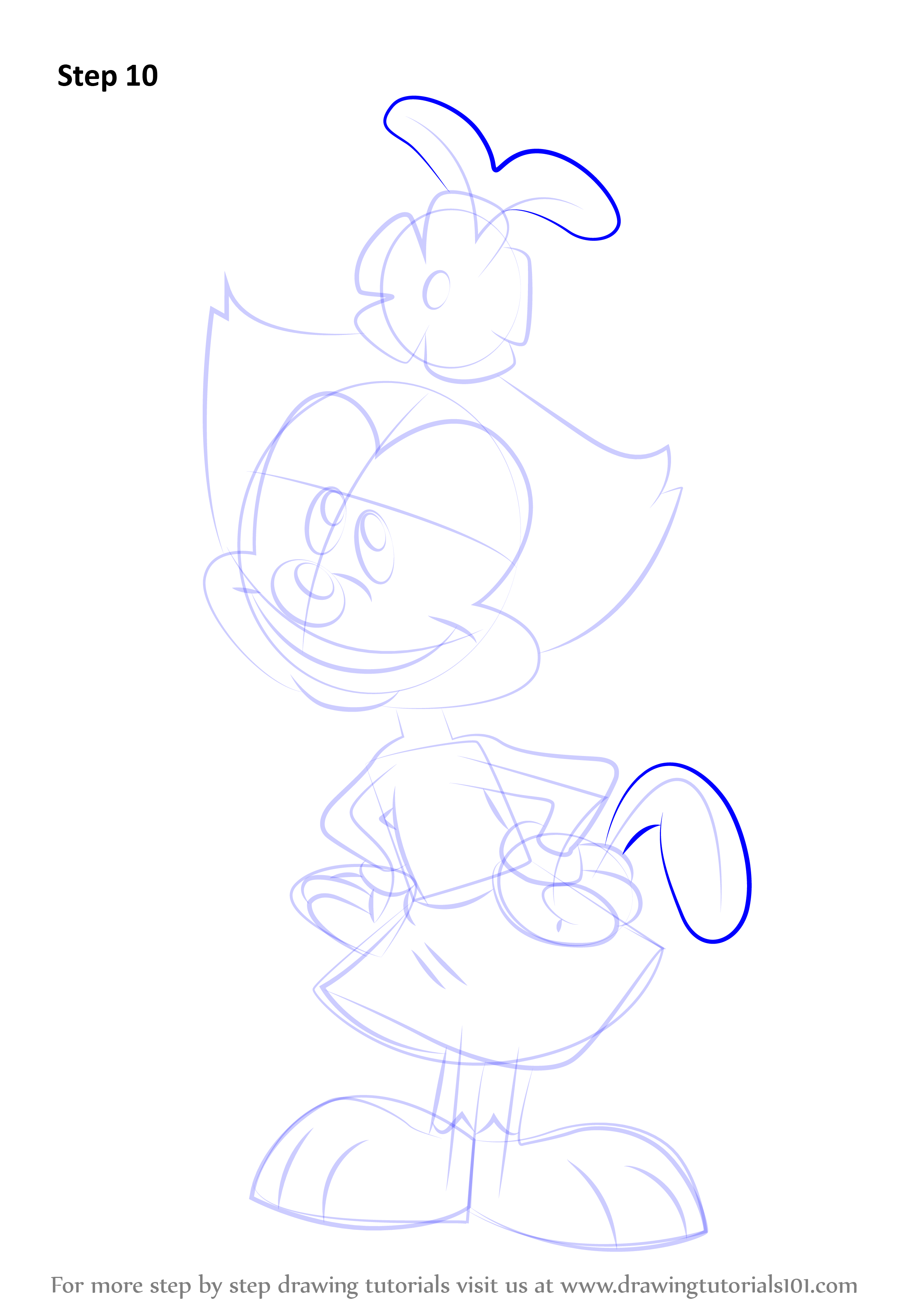 Learn How to Draw Dot from Animaniacs (Animaniacs) Step by ...
