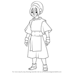 How to Draw Toph Beifong from Avatar The Last Airbender