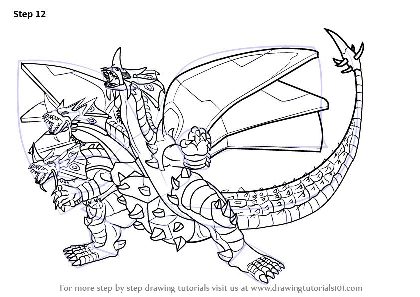 Printable Bakugan Coloring Pages For Kids | 596x842