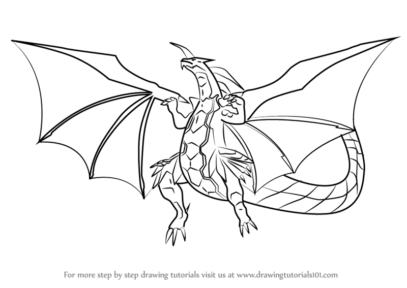 Learn How to Draw Delta Dragonoid from Bakugan Battle ...