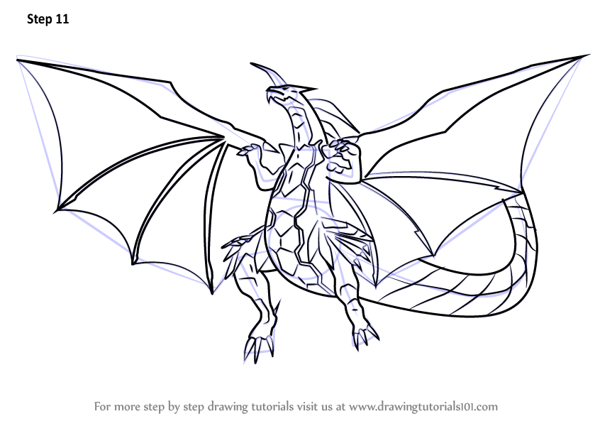 bakugan titanium dragonoid coloring pages - photo#9