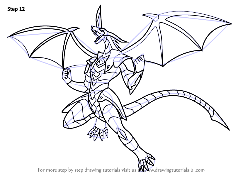 how to draw drago.com
