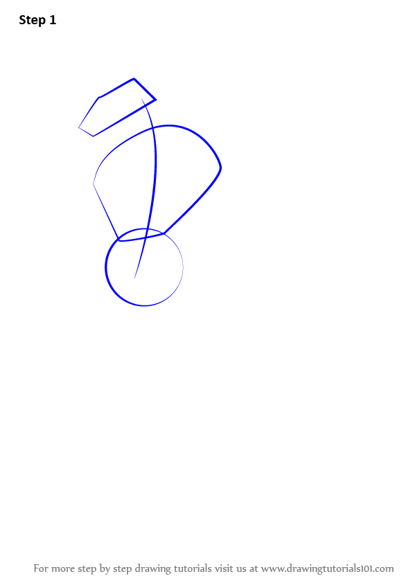 how to draw an infinity sign step by step