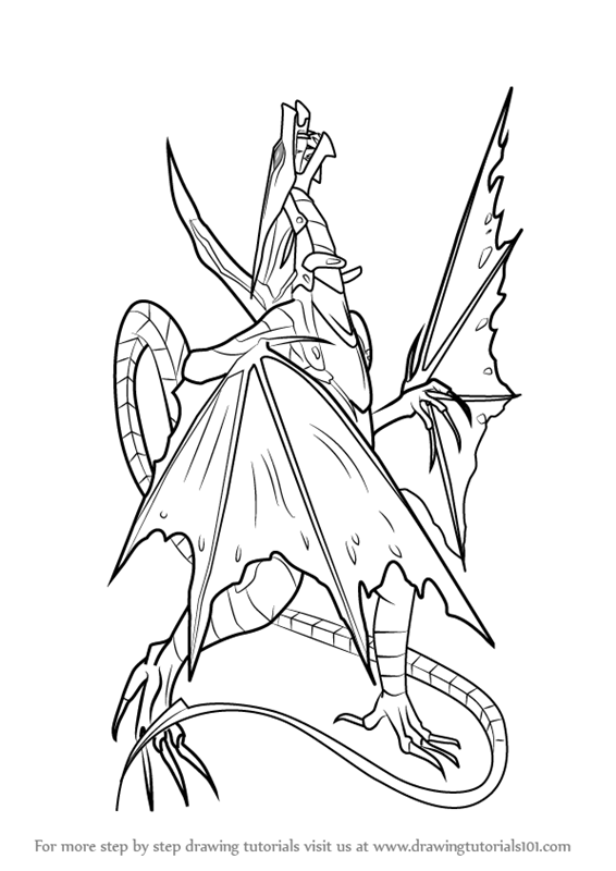 bakugan titanium dragonoid coloring pages - photo#38