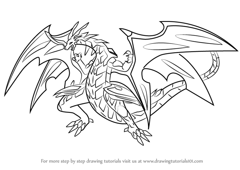 bakugan titanium dragonoid coloring pages - photo#10