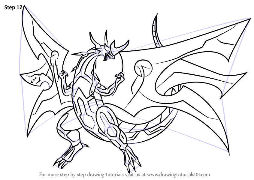 bakugan hydranoid coloring pages - photo#23