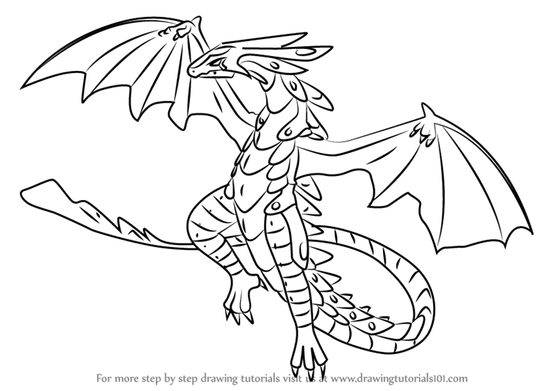 Learn how to draw wavern from bakugan battle brawlers for Bakugan drago coloring pages