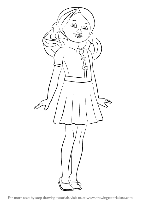 Learn How To Draw Chelsea From Barbie Life In The Dreamhouse Step By Drawing Tutorials