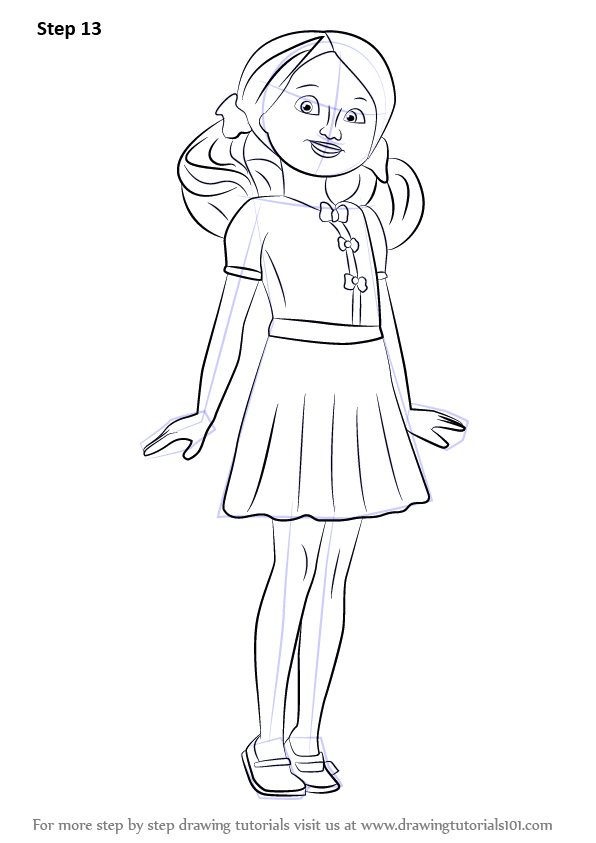 Learn How To Draw Chelsea From Barbie Life In The In The Dreamhouse Coloring Pages
