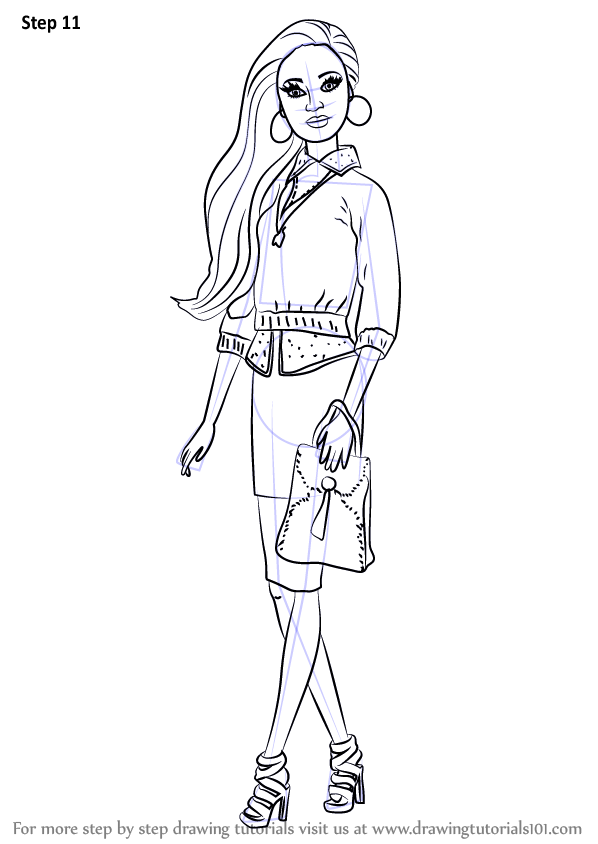 Coloring Pages Of Barbie Life In The Dreamhouse : Learn how to draw grace from barbie life in the dreamhouse