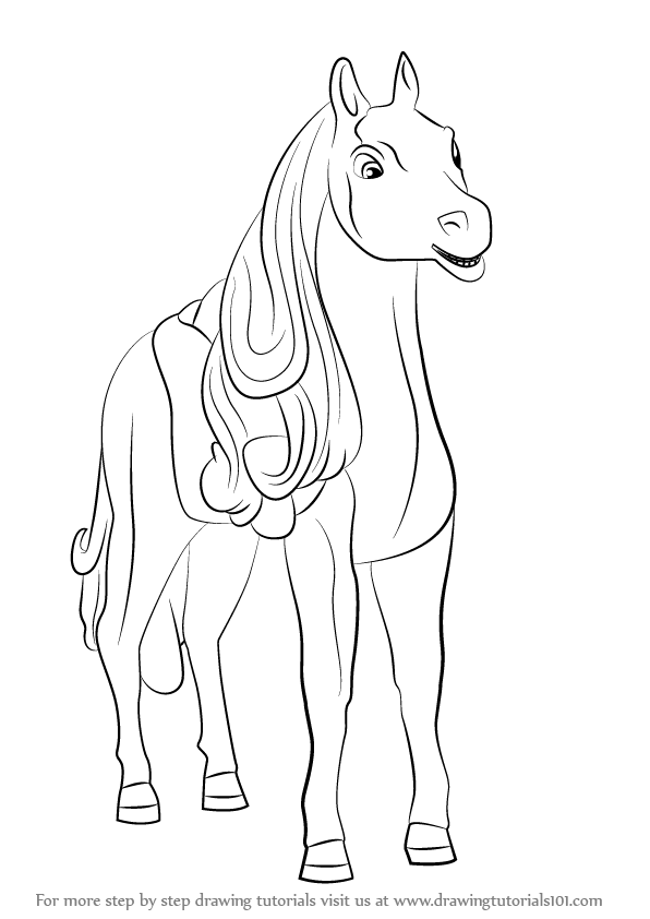 Learn how to draw tawny from barbie life in the dreamhouse for Barbie in the dream house coloring pages