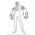 How to Draw Shriek from Batman Beyond