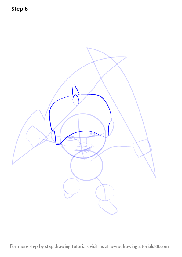 Learn How To Draw Boboiboy Thunderstorm From Boboiboy