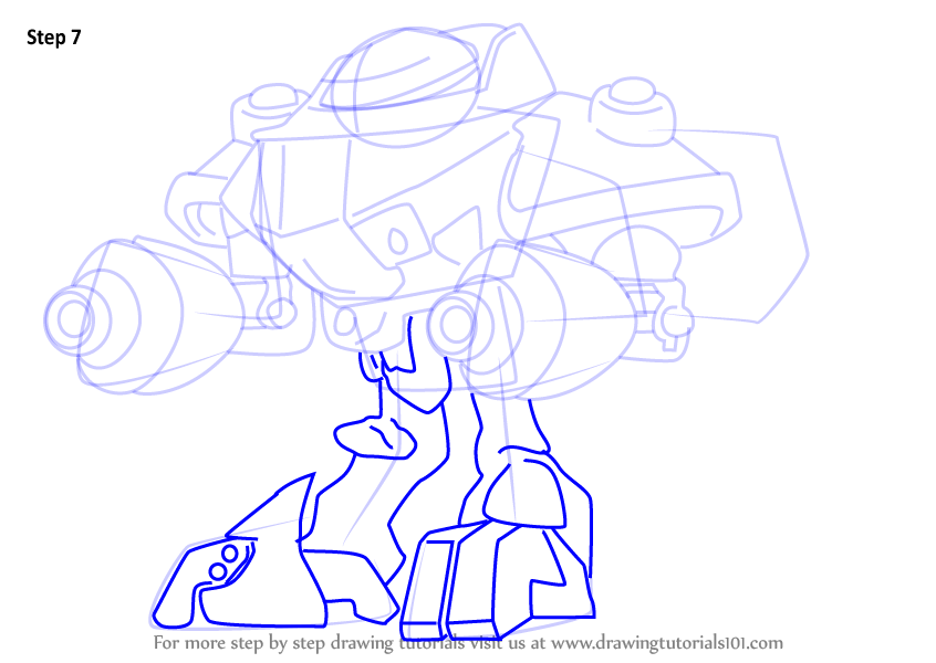how to draw a probe drode