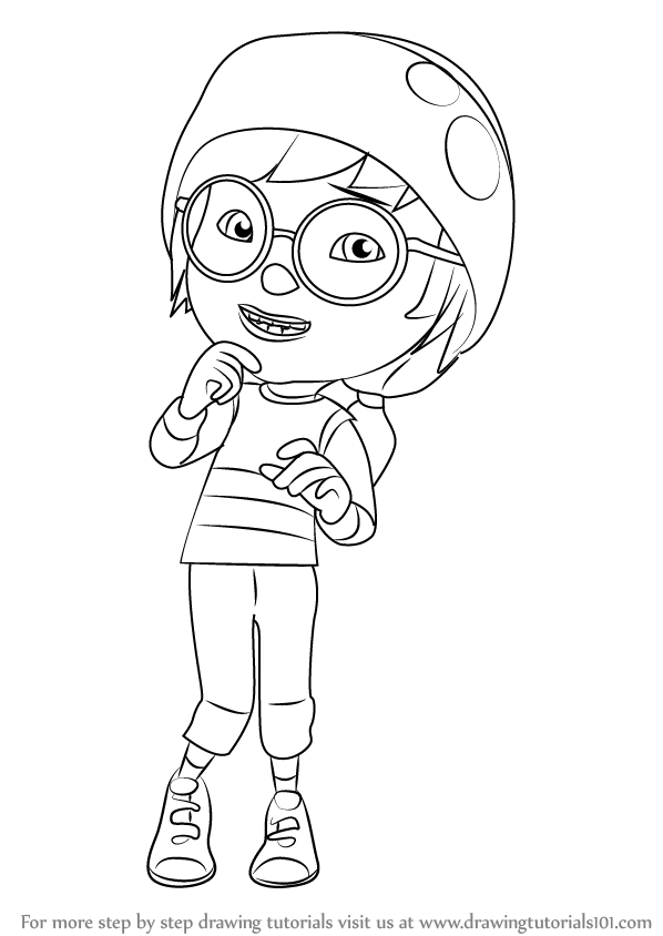 Learn How To Draw Ying From BoBoiBoy BoBoiBoy Step By Step Drawing Tutorials