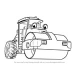 How to Draw Roley from Bob the Builder 2015
