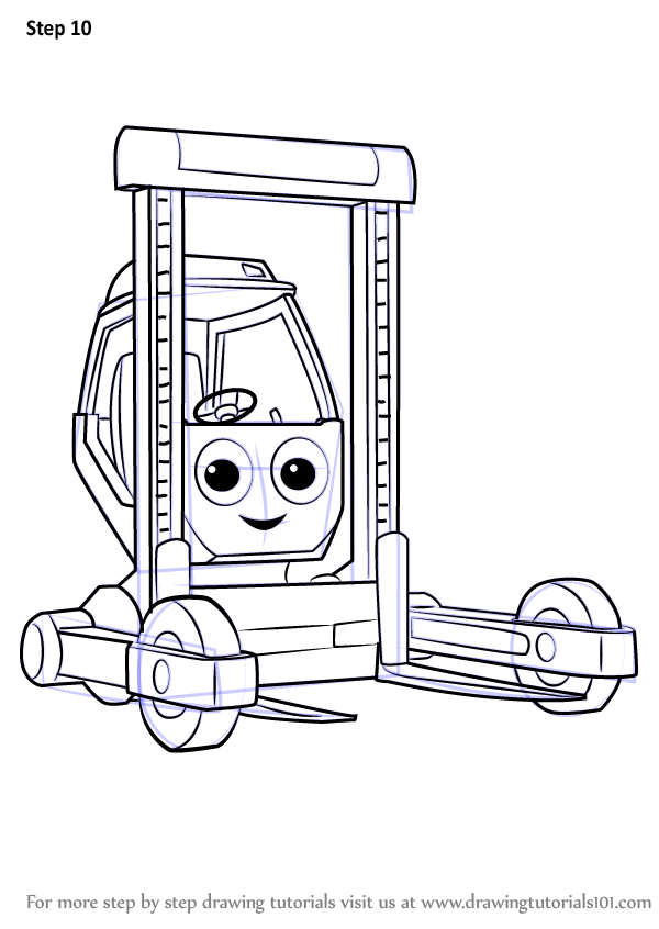 Learn How to Draw Shifter from Bob the Builder 2015 (Bob ...