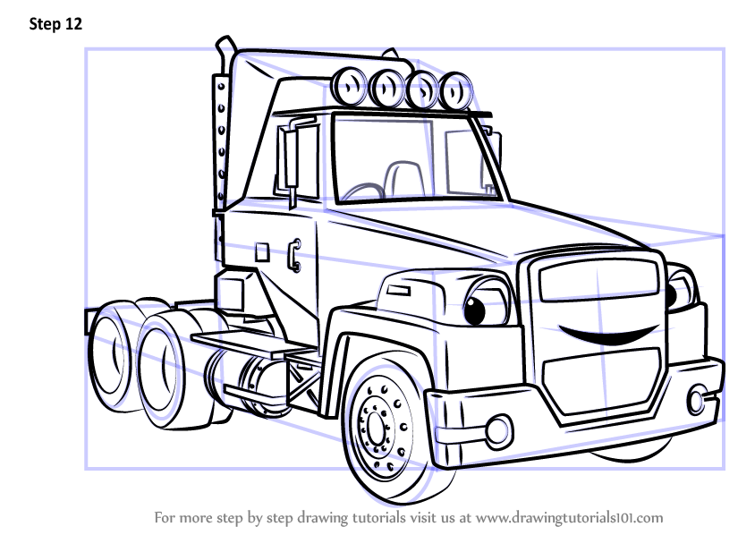 Learn How To Draw Two Tonne From Bob The Builder 2015 Bob