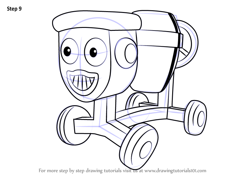 Learn How to Draw Dizzy from Bob the Builder (Bob the ...