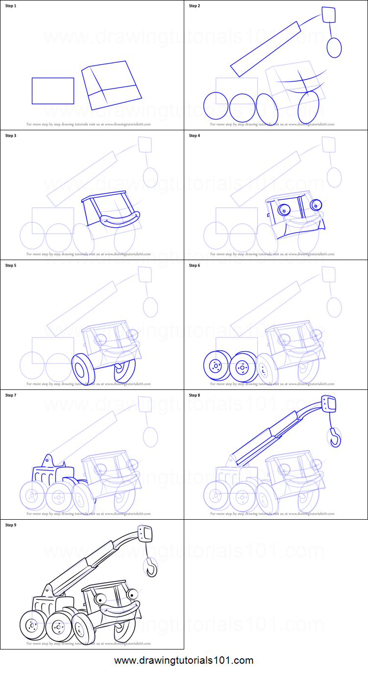 How To Draw Lofty From Bob The Builder
