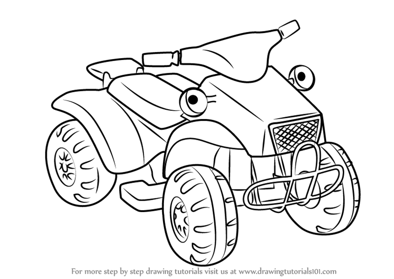 Learn How to Draw Scrambler from Bob the Builder (Bob the ...