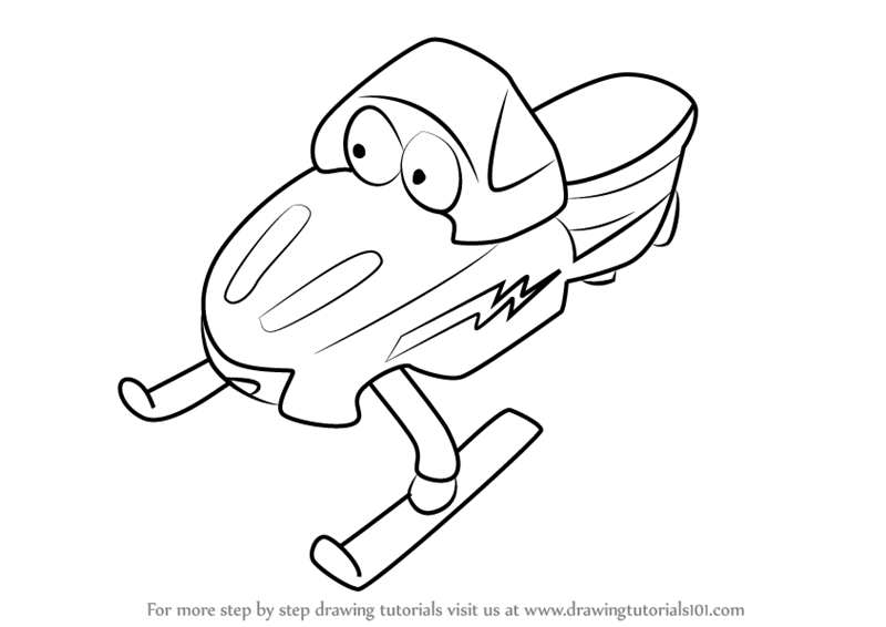 Learn How to Draw Zoomer from Bob the Builder (Bob the ...