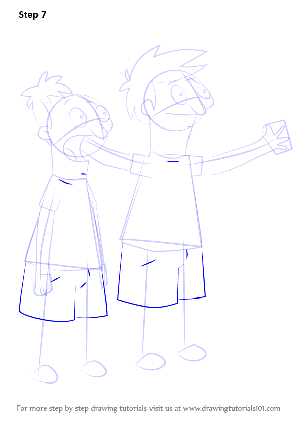 Learn How To Draw Andy And Ollie Pesto From Bob S Burgers