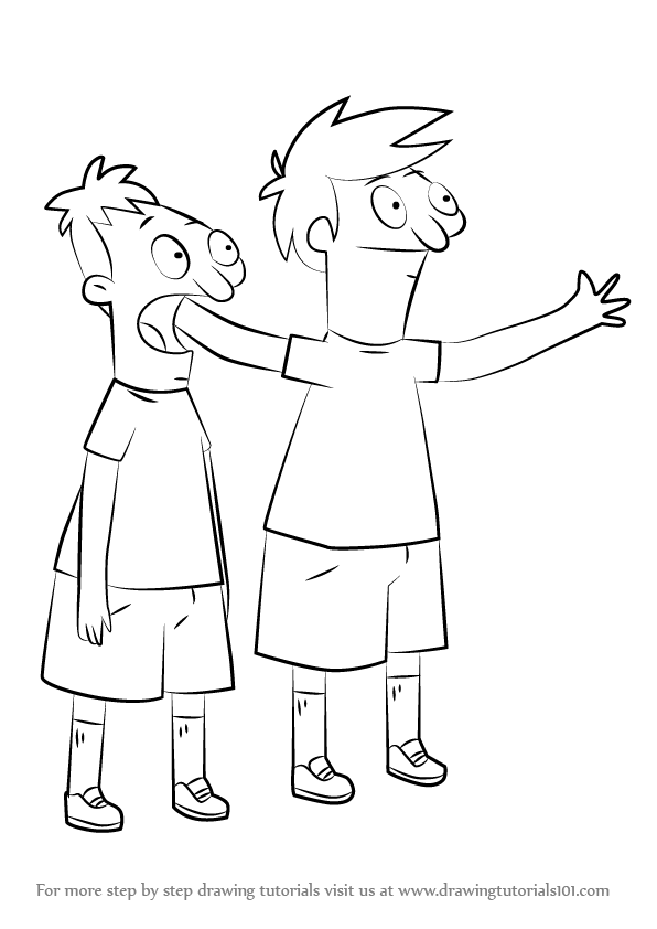 Learn How to Draw Andy and Ollie Pesto from Bob's Burgers ...
