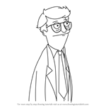 How to Draw Mort from Bob's Burgers
