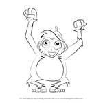 How to Draw Boo from Boo & Me