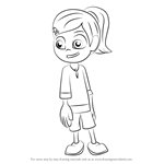 How to Draw Yasmin from Boo & Me